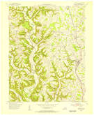 Download a high-resolution, GPS-compatible USGS topo map for Science Hill, KY (1955 edition)
