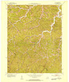 Download a high-resolution, GPS-compatible USGS topo map for Seitz, KY (1953 edition)