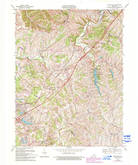 Download a high-resolution, GPS-compatible USGS topo map for Smithfield, KY (1994 edition)