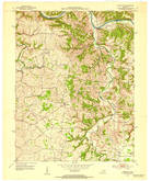 Download a high-resolution, GPS-compatible USGS topo map for Union City, KY (1953 edition)