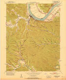 Download a high-resolution, GPS-compatible USGS topo map for Vanceburg, KY (1951 edition)