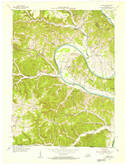 Download a high-resolution, GPS-compatible USGS topo map for Vernon, KY (1955 edition)