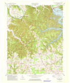 Download a high-resolution, GPS-compatible USGS topo map for Wolf Creek Dam, KY (1978 edition)