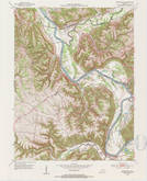 Download a high-resolution, GPS-compatible USGS topo map for Worthville, KY (1984 edition)