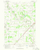 Download a high-resolution, GPS-compatible USGS topo map for Adair, MI (1971 edition)