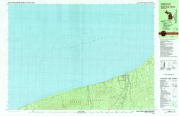 Download a high-resolution, GPS-compatible USGS topo map for Black River Harbor, MI (1981 edition)
