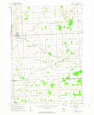 Download a high-resolution, GPS-compatible USGS topo map for Brown City, MI (1963 edition)