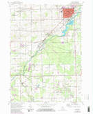 Download a high-resolution, GPS-compatible USGS topo map for Caro, MI (1980 edition)
