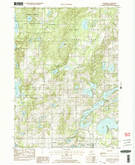 Download a high-resolution, GPS-compatible USGS topo map for Cloverdale, MI (1982 edition)