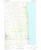 Download a high-resolution, GPS-compatible USGS topo map for Croswell, MI (1977 edition)