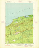 Download a high-resolution, GPS-compatible USGS topo map for Eagle Harbor, MI (1948 edition)