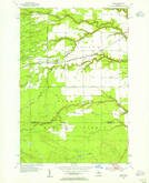 Download a high-resolution, GPS-compatible USGS topo map for Fibre, MI (1955 edition)