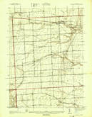 Download a high-resolution, GPS-compatible USGS topo map for Goodells, MI (1939 edition)