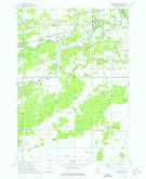 Download a high-resolution, GPS-compatible USGS topo map for Gordonville, MI (1976 edition)