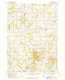 Download a high-resolution, GPS-compatible USGS topo map for Hadley, MI (1970 edition)