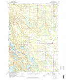Download a high-resolution, GPS-compatible USGS topo map for Hawks, MI (1974 edition)