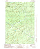 Download a high-resolution, GPS-compatible USGS topo map for Helps, MI (1986 edition)