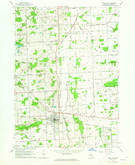 Download a high-resolution, GPS-compatible USGS topo map for Imlay City, MI (1964 edition)