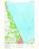 Download a high-resolution, GPS-compatible USGS topo map for Lakeport, MI (1963 edition)