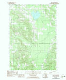 Download a high-resolution, GPS-compatible USGS topo map for Larks Lake, MI (1983 edition)