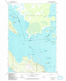 Download a high-resolution, GPS-compatible USGS topo map for Lime Island, MI (1994 edition)