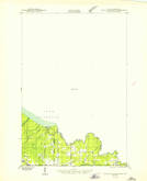 Download a high-resolution, GPS-compatible USGS topo map for Little Girls Point, MI (1943 edition)