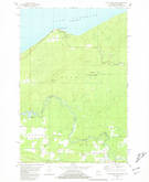 Download a high-resolution, GPS-compatible USGS topo map for Little Girls Point, MI (1981 edition)