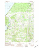 Download a high-resolution, GPS-compatible USGS topo map for Mears, MI (1983 edition)
