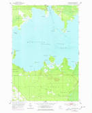 Download a high-resolution, GPS-compatible USGS topo map for Munuscong, MI (1978 edition)