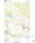 Download a high-resolution, GPS-compatible USGS topo map for Norway, MI (1982 edition)