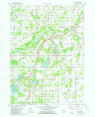 Download a high-resolution, GPS-compatible USGS topo map for Olivet, MI (1980 edition)