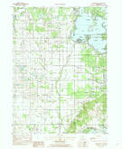 Download a high-resolution, GPS-compatible USGS topo map for Orangeville, MI (1982 edition)