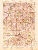 Download a high-resolution, GPS-compatible USGS topo map for Pontiac South, MI (1943 edition)