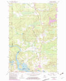Download a high-resolution, GPS-compatible USGS topo map for Randville, MI (1983 edition)