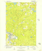 Download a high-resolution, GPS-compatible USGS topo map for Republic, MI (1957 edition)