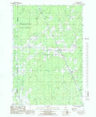 Download a high-resolution, GPS-compatible USGS topo map for Rock, MI (1985 edition)