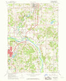 Download a high-resolution, GPS-compatible USGS topo map for Rockford, MI (1969 edition)