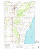 Download a high-resolution, GPS-compatible USGS topo map for Standish, MI (1974 edition)