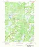 Download a high-resolution, GPS-compatible USGS topo map for Sterling SW, MI (1971 edition)