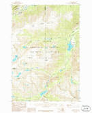 Download a high-resolution, GPS-compatible USGS topo map for Alpine, MT (1986 edition)