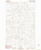 Download a high-resolution, GPS-compatible USGS topo map for Antelope Creek Reservoir, MT (1983 edition)