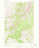 Download a high-resolution, GPS-compatible USGS topo map for Antone Peak, MT (1972 edition)