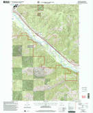 Download a high-resolution, GPS-compatible USGS topo map for Bonner, MT (2003 edition)
