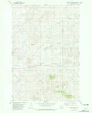 Download a high-resolution, GPS-compatible USGS topo map for Bracket Butte, MT (1981 edition)