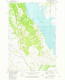 Download a high-resolution, GPS-compatible USGS topo map for Canyon Ferry SW, MT (1975 edition)