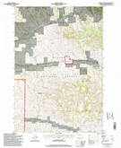 Download a high-resolution, GPS-compatible USGS topo map for Coleman Draw, MT (1998 edition)