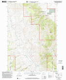 Download a high-resolution, GPS-compatible USGS topo map for Dixon Mountain, MT (2002 edition)