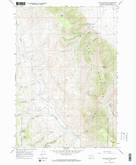 Download a high-resolution, GPS-compatible USGS topo map for Dixon Mountain, MT (1968 edition)