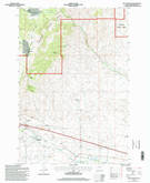 Download a high-resolution, GPS-compatible USGS topo map for Dry Mountain, MT (1998 edition)