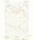 Download a high-resolution, GPS-compatible USGS topo map for Emond Ranch, MT (1970 edition)